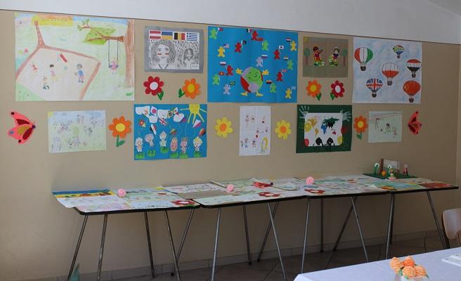Kolorowy Świat - Wystawa prac